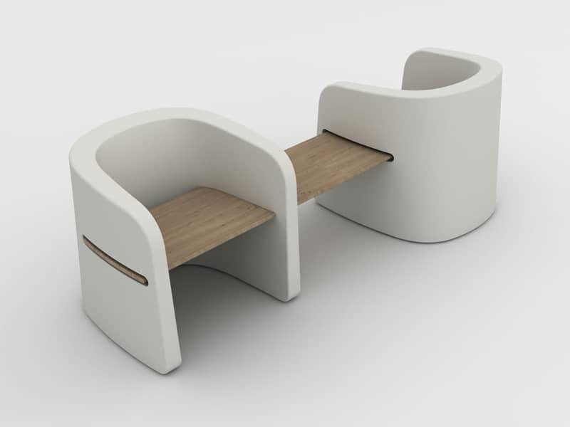 Talea Bench by euro3plast