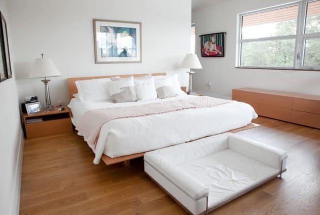 Traditional Neutral Modern Bed