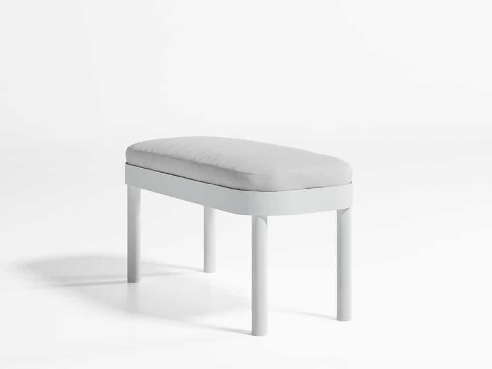 Tropez bench by Gandia Blasco