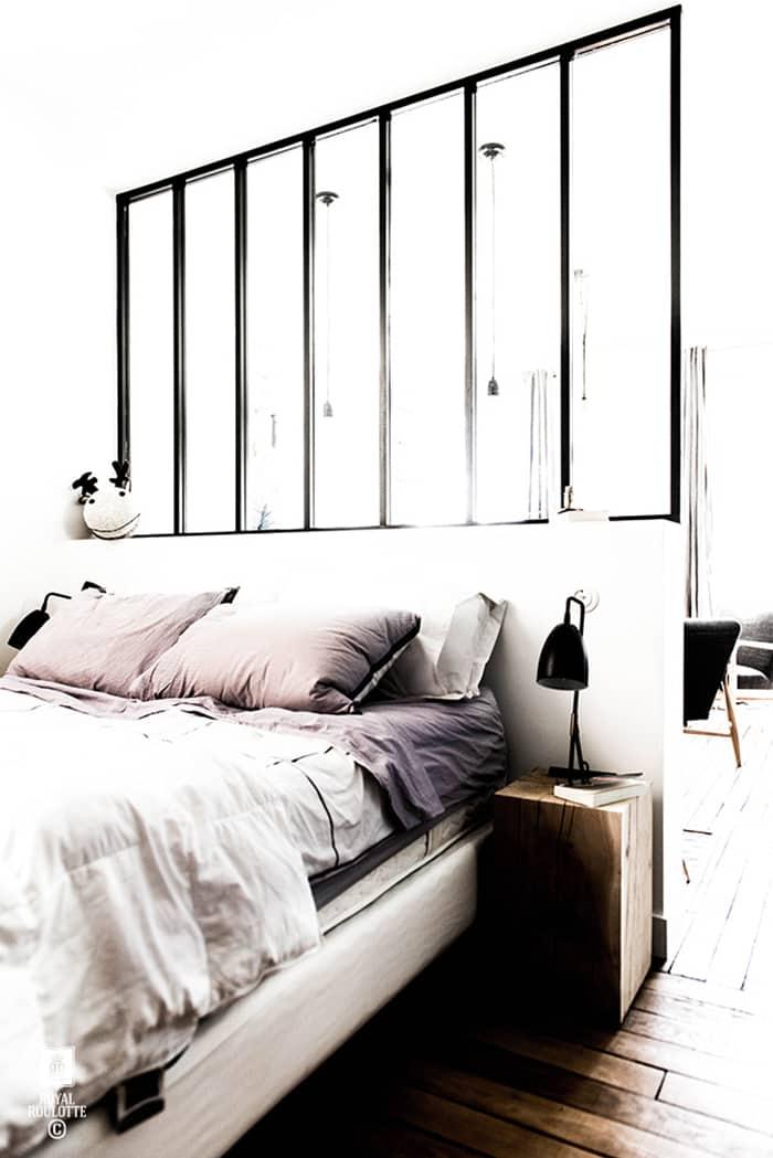 Tucked away sleeping area