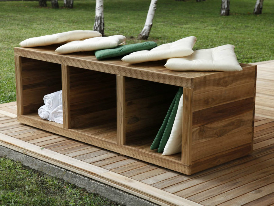 Awesome Storage U Other Perks With Banc De Jardin Design