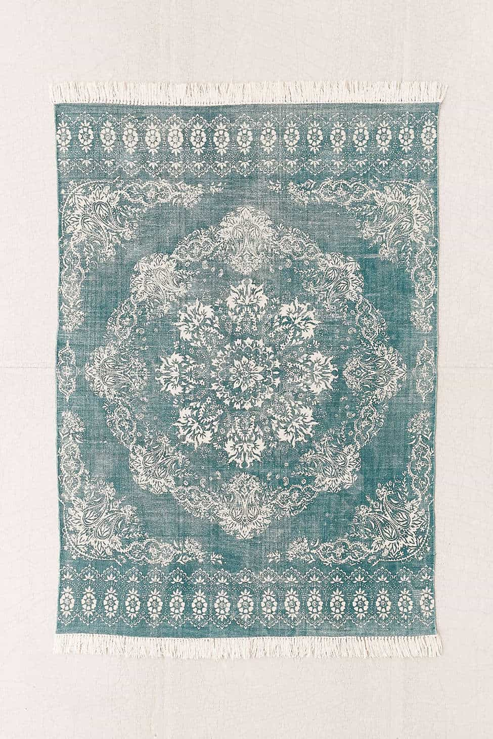 Ulla Bandana Printed Rug from Urban Outfitters
