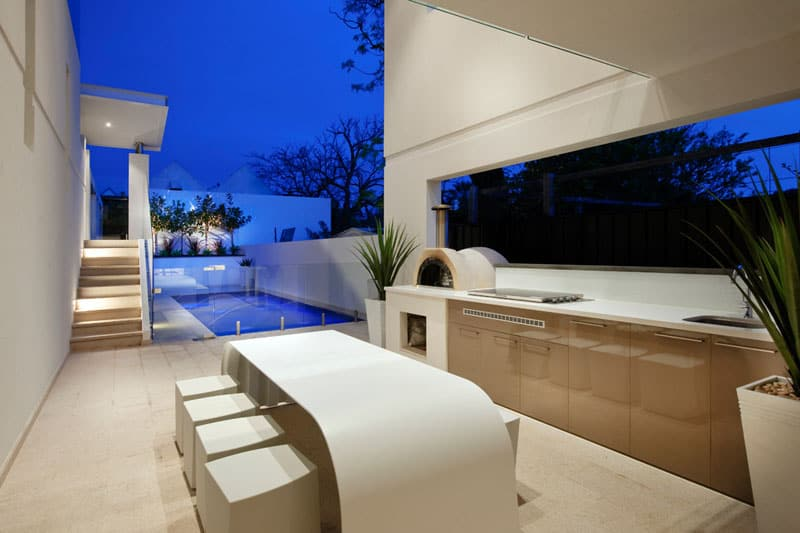 ... Ultra contemporary outdoor kitchen Cooking Fresh is Easy in Modern  Outdoor Kitchens