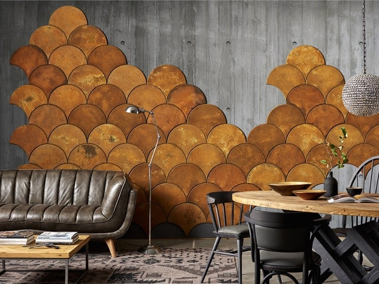 Wall covering by Dialma Brown