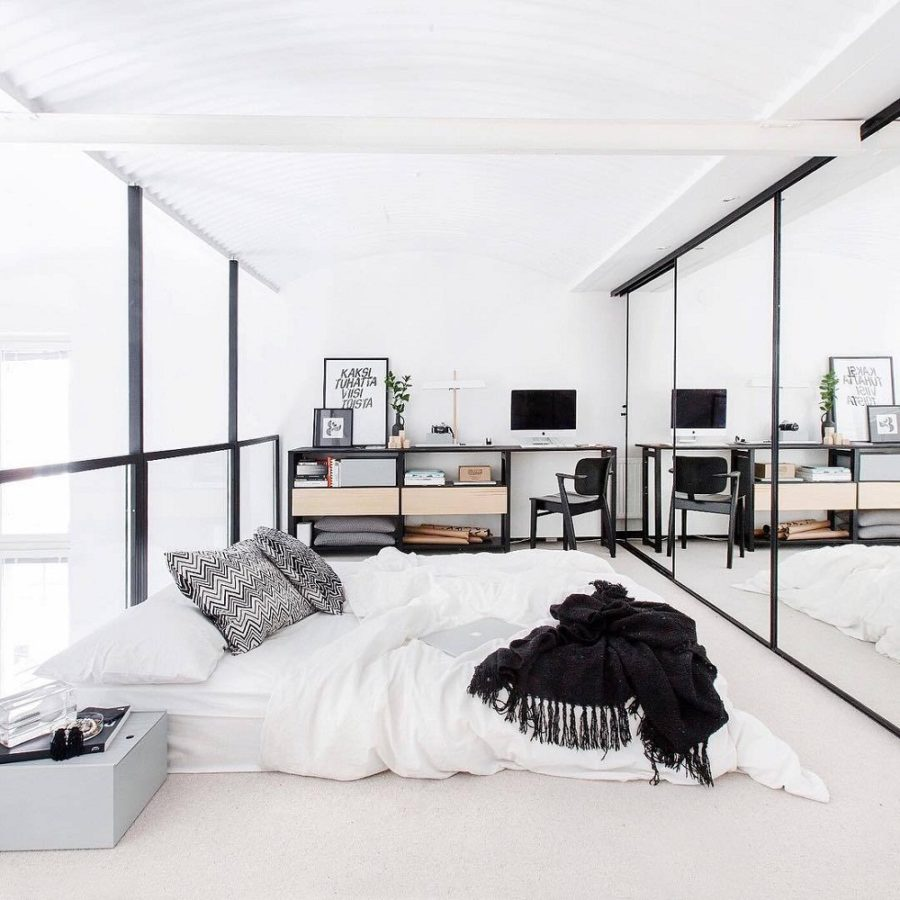 Bedroom mirror designs that reflect personality for White bedroom wall mirror