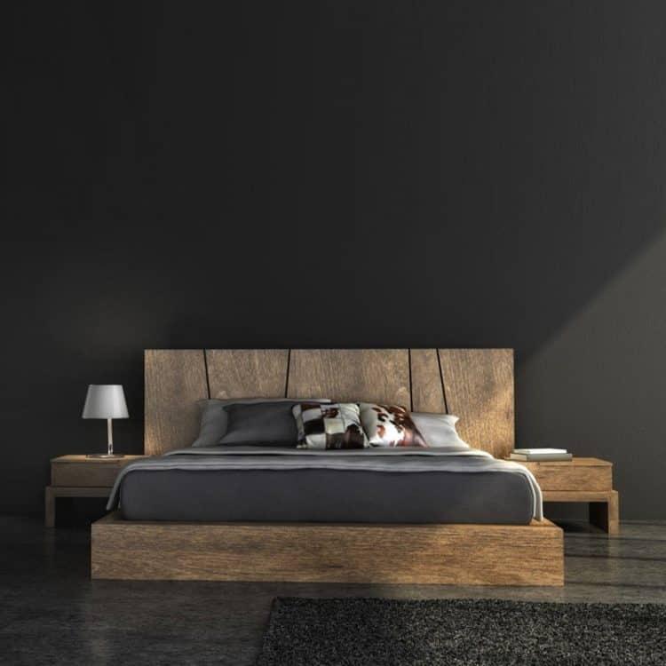 Wooden Modern Bed