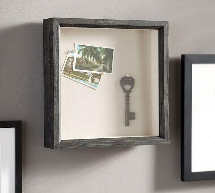 Accent wall shadow box