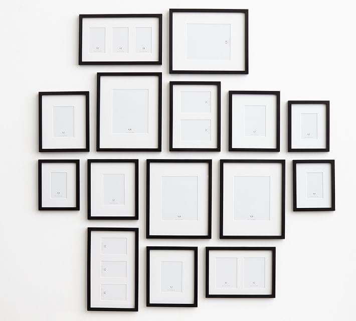 Black framed collection