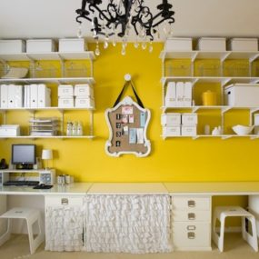 Innovative Ways to Upgrade the Look of Your Office Yellow Decor 285x285 Innovative Ways to Upgrade the Look of Your Office