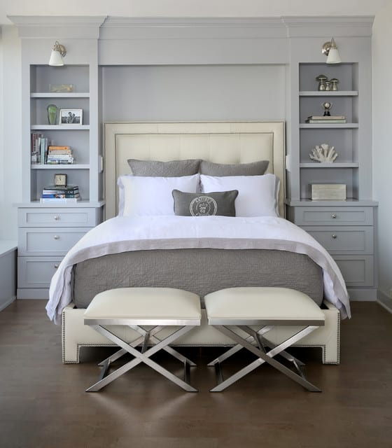 Transitional bedroom with focal point 10 Master Bedroom Design Ideas from Our Favorite Homes
