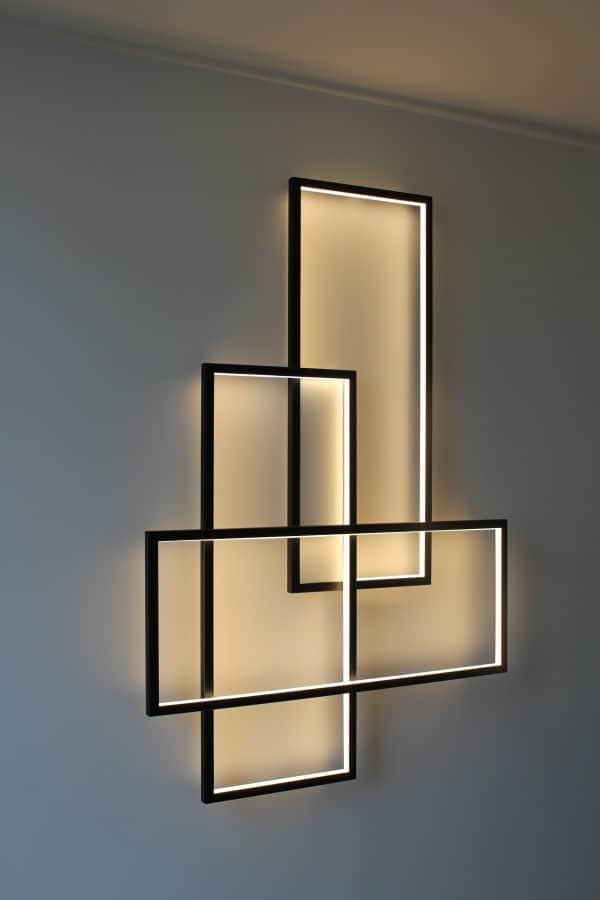 Triple Frame Wall Lamp