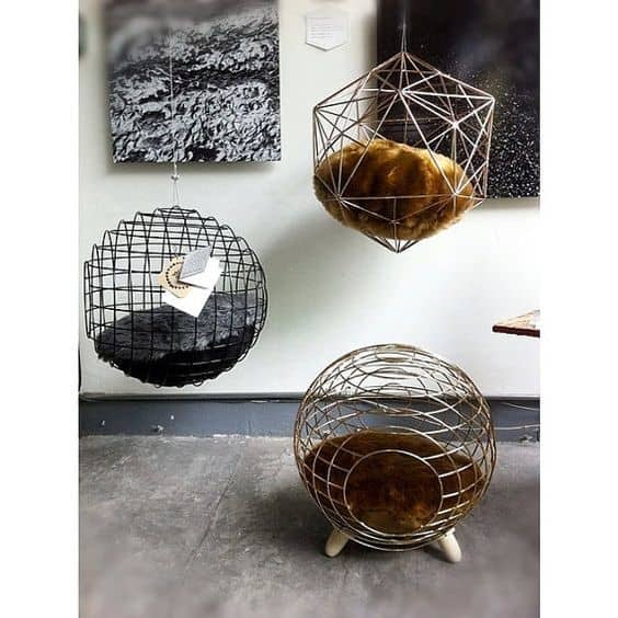 Beautiful Wire Cat beds