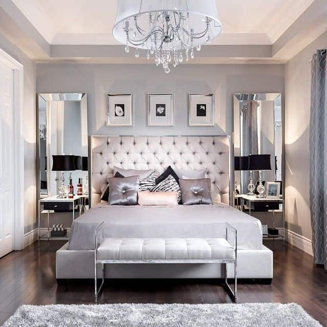 Luxury bedroom Add Mirrors