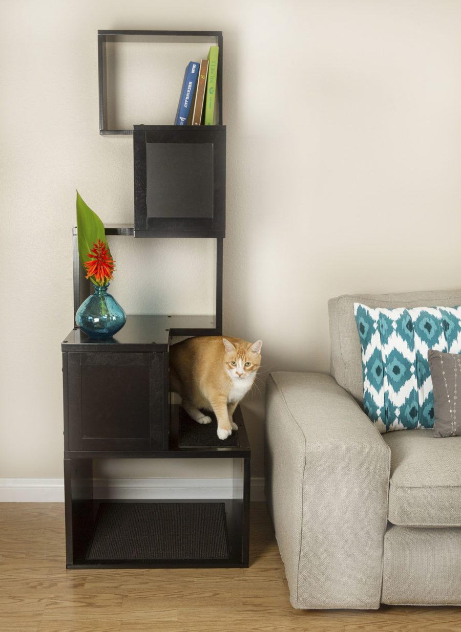 Modern Cat Tree 900x1235 25 Pieces of Cat Furniture to Keep Your Home Stylish