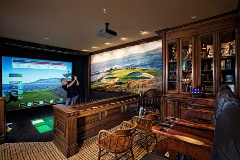 How to create the ultimate man cave for Mural vision tv
