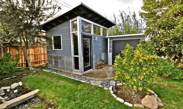Backyard Studio Shed Design