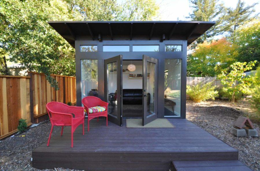 The She Shed Modern Shed Styles Backyard Design