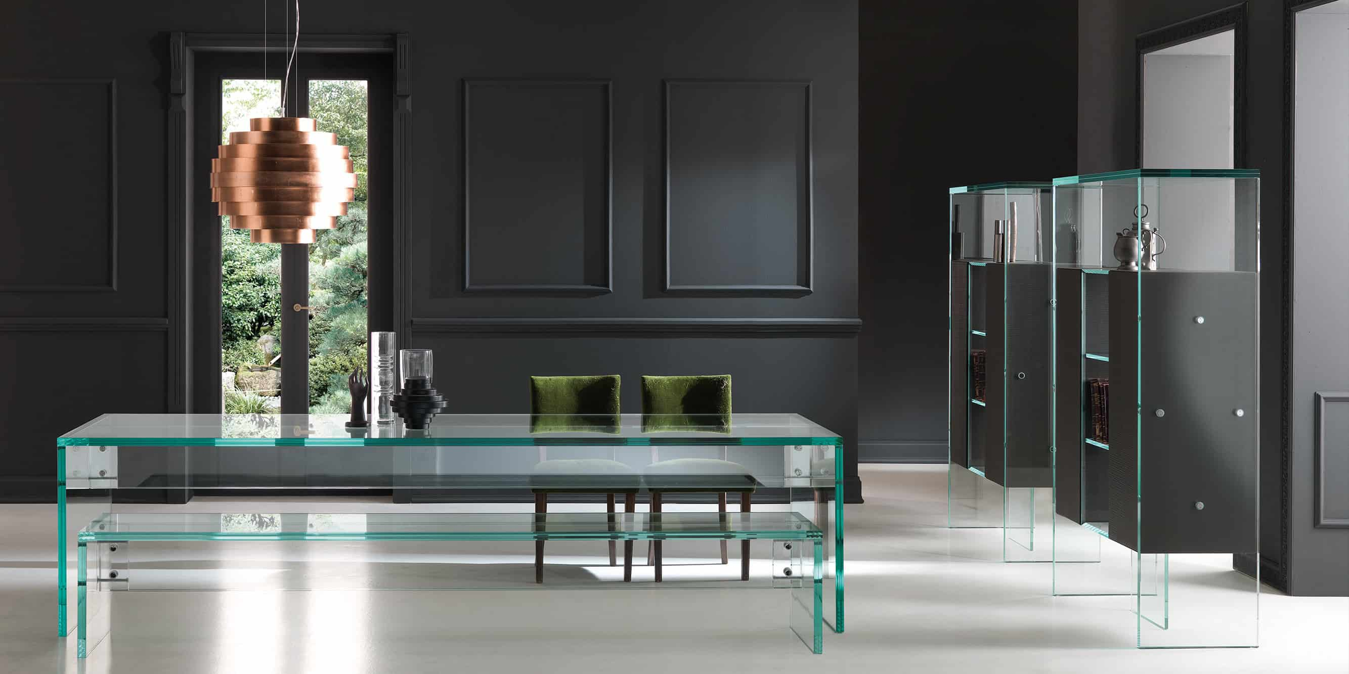 Buy Glass or Mirrored Furniture