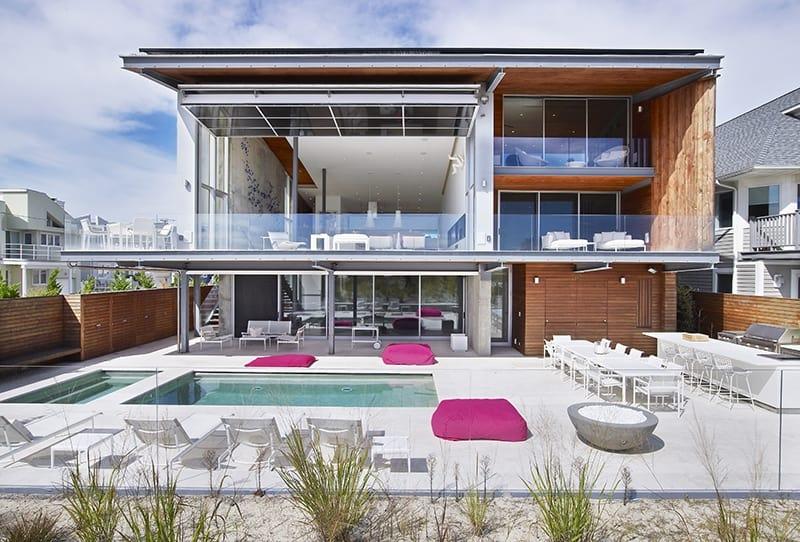 Modern beach homes modern exterior design for Design for the home