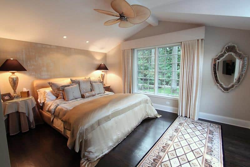 View In Gallery We Even Love Dark Floors The Bedroom