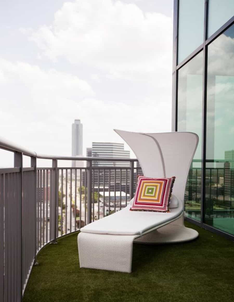 Experience the outdoors and relax in the shade with a chair like this one