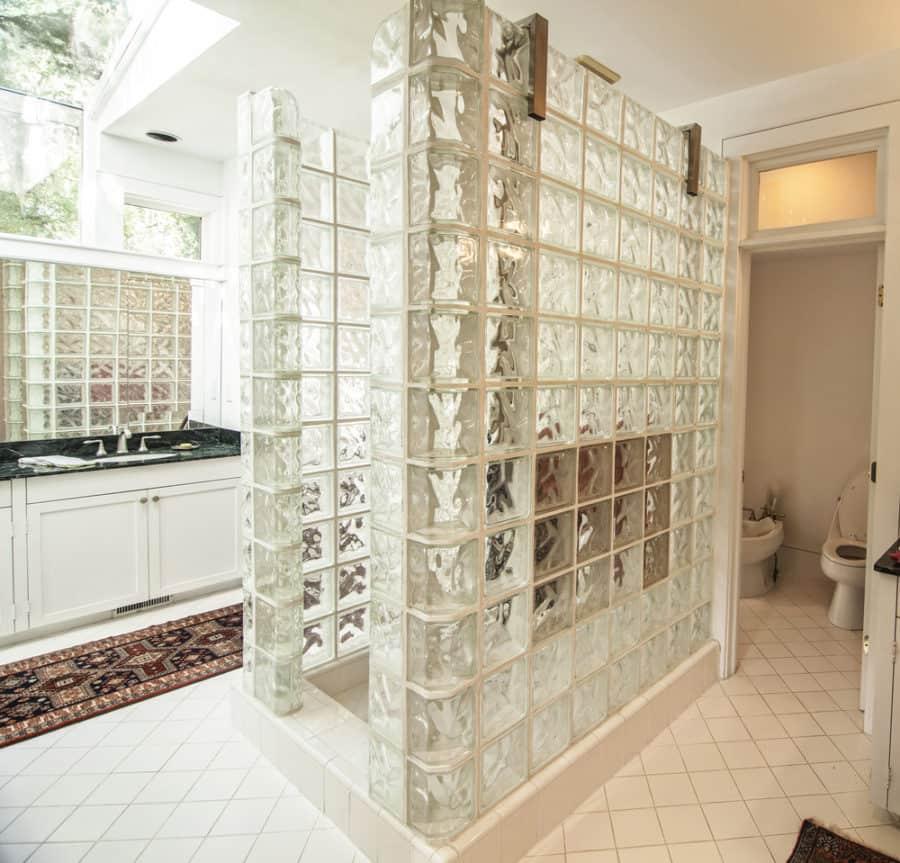 Glass-tile-shower