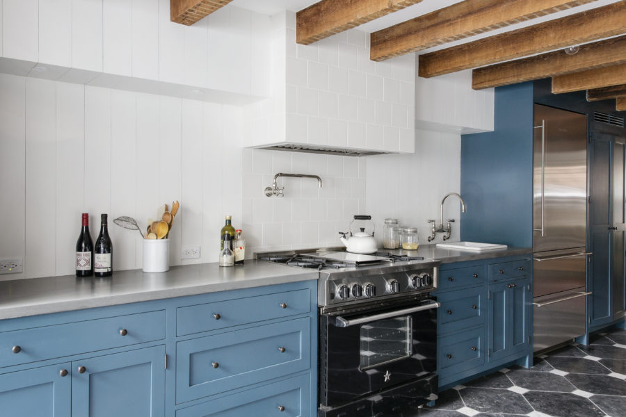 Light Blue Kitchen Cabinets 900x600 40 Colorful Kitchen Cabinets To Add A Spark To Your Home