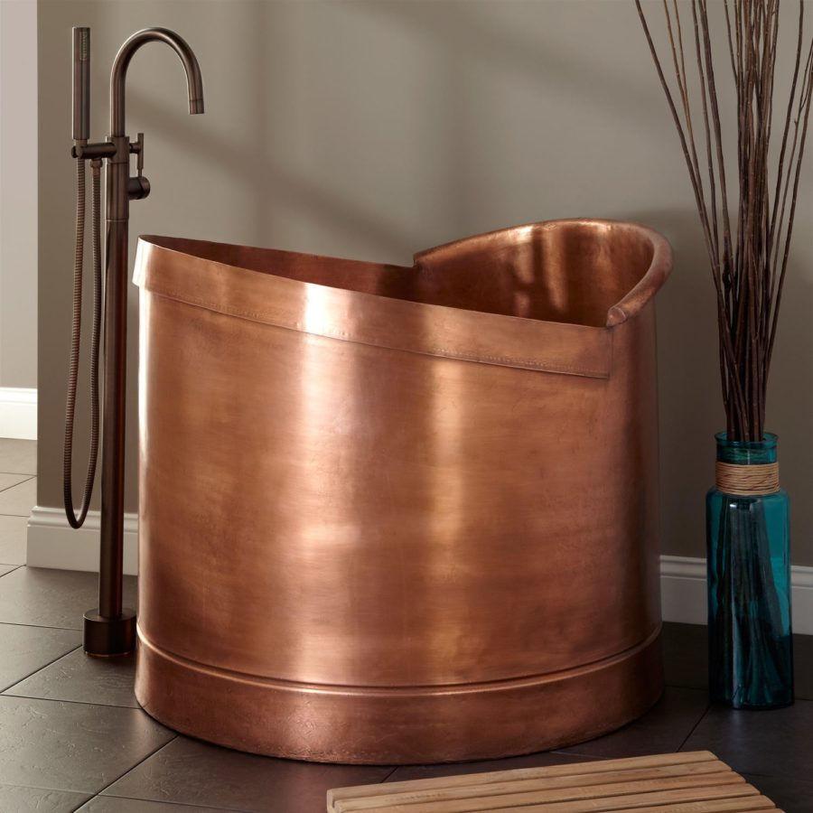 View In Gallery Here S Another Copper Tub