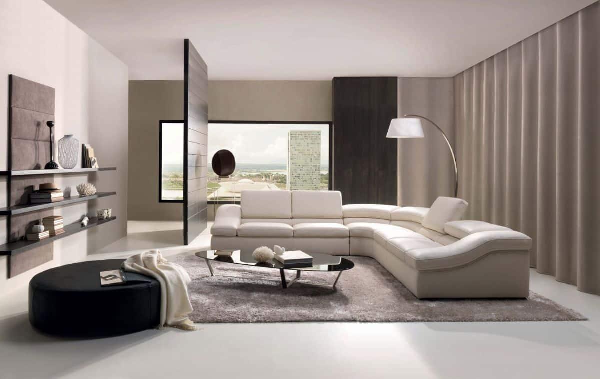 Modern modern sofa become the focal point