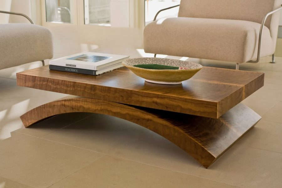 39 large coffee tables for your spacious living room for Living room no coffee table