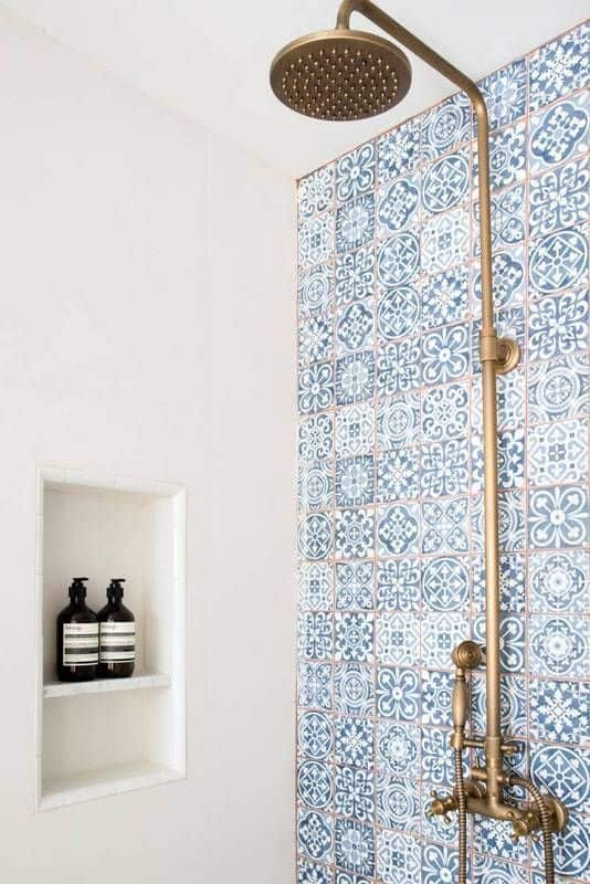 Morrocon Tile Shower