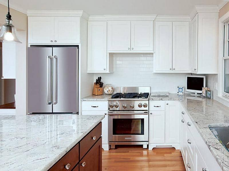 Our Pick On The Best Kitchen Design Trends: what is the whitest quartz countertop