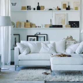 Remove Furniture from the Wall 285x285 Innovative Ways to Make a Small Space Feel Bigger
