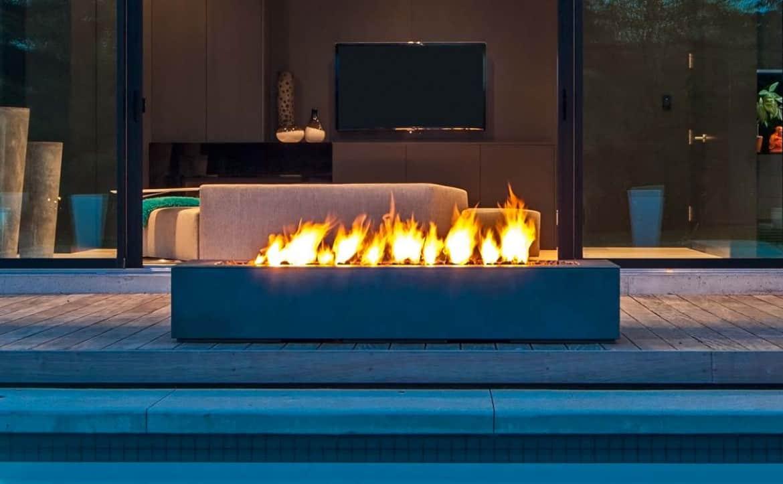Small Modern Fire Pit Design
