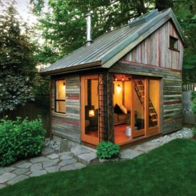 Traditional Garden Shed 285x285 The She Modern Styles For Your Backyard