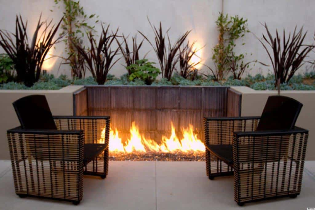Unique Modern Fire Pit Design