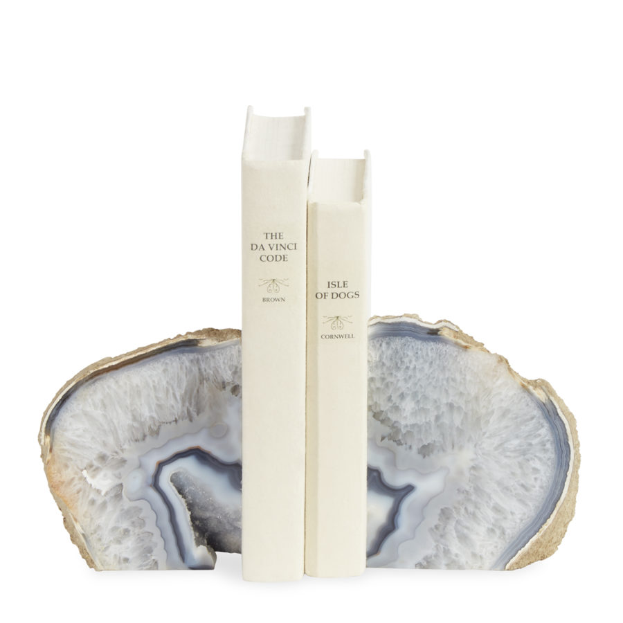 agate bookend set jonathan adler 900x900 20 Unique Bookends For Yourself Or Your Bestie