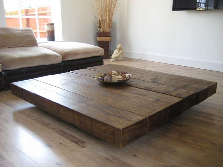 Superbe 39 Large Coffee Tables For Your Spacious Living Room