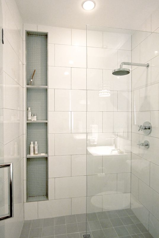 Bathroom Tile Ideas Use Large Tiles On The Floor And Walls Large