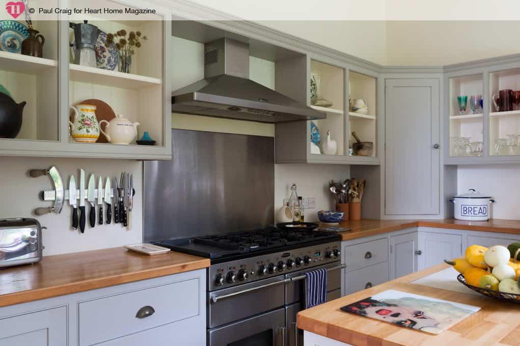 lavender kitchen cabinets