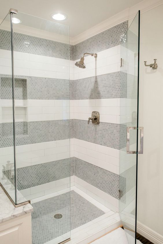 These Tile Shower Ideas Will Have You Planning Your Bathroom Redo - Images of bathroom showers for bathroom decor ideas