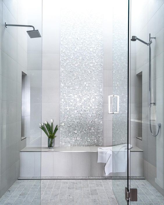 view in gallery - Shower Tile Design Ideas