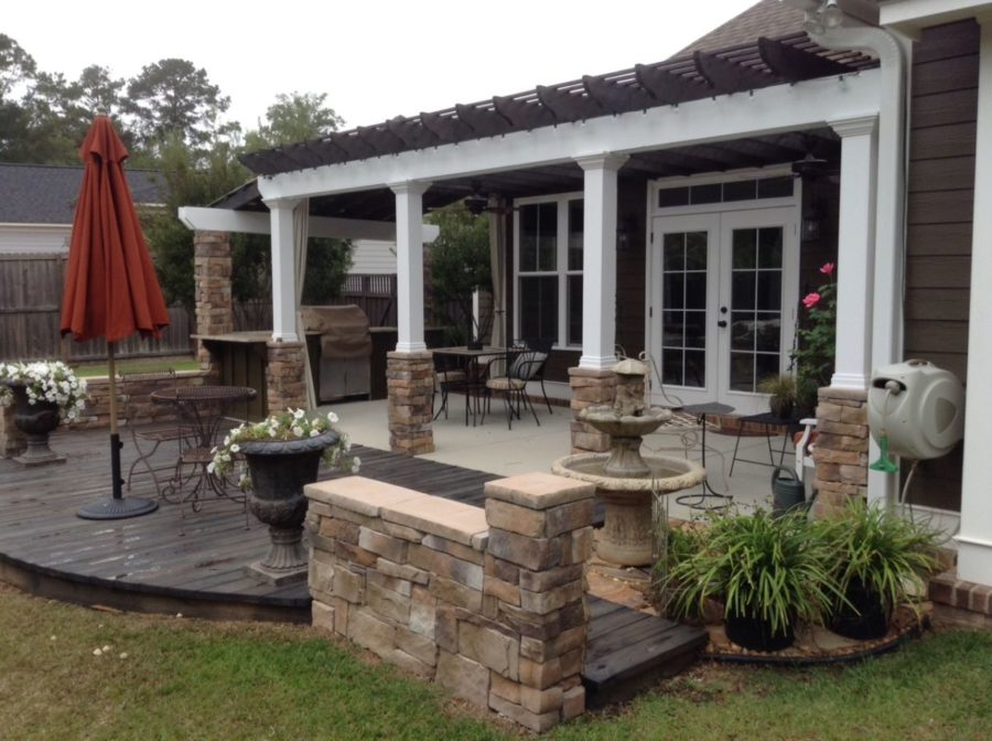 Consider Stone 900x672 Low Maintenance Backyard Design Concepts
