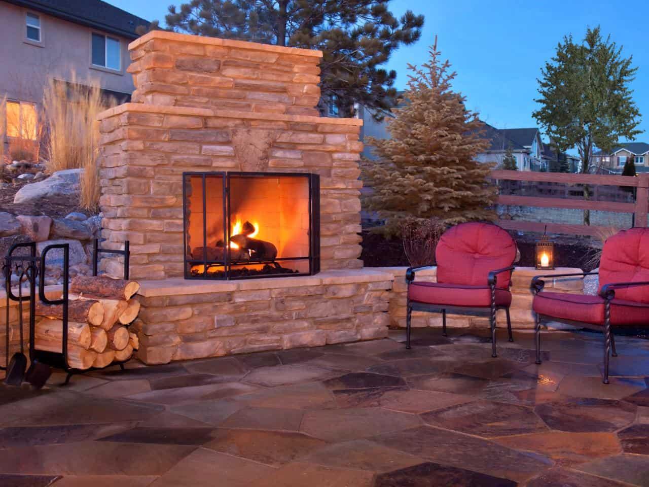 Fireplace Lighting type