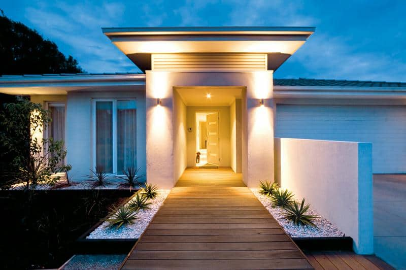 House outdoor lighting ideas Led Lights Lighting The Door Trendir 10 Outdoor Lighting Ideas You Must See