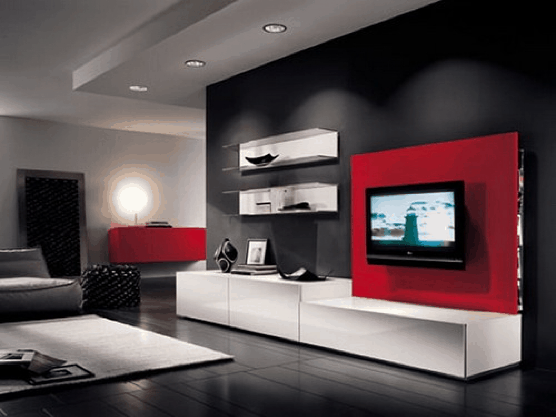 Modern Living Room Ideas – color