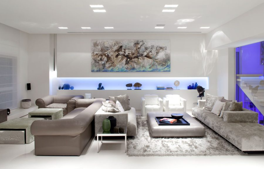 Trend Intricate Sofa Layout