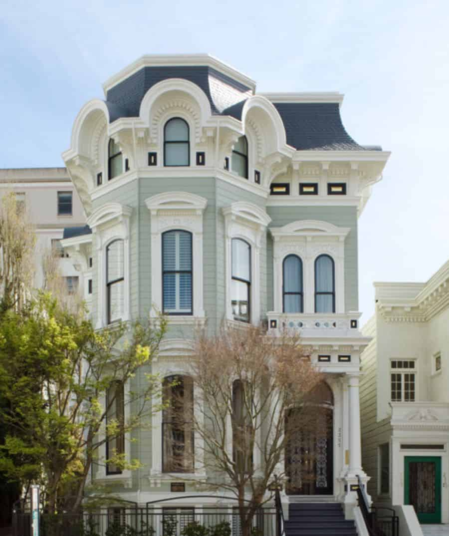 This is a classic, Victorian townhouse
