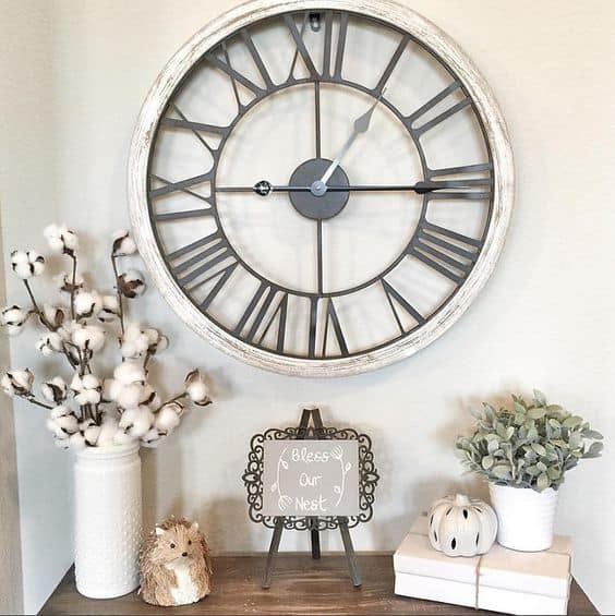 40 cool wall clocks for any room of the house With kitchen cabinet trends 2018 combined with large metal wall art clocks