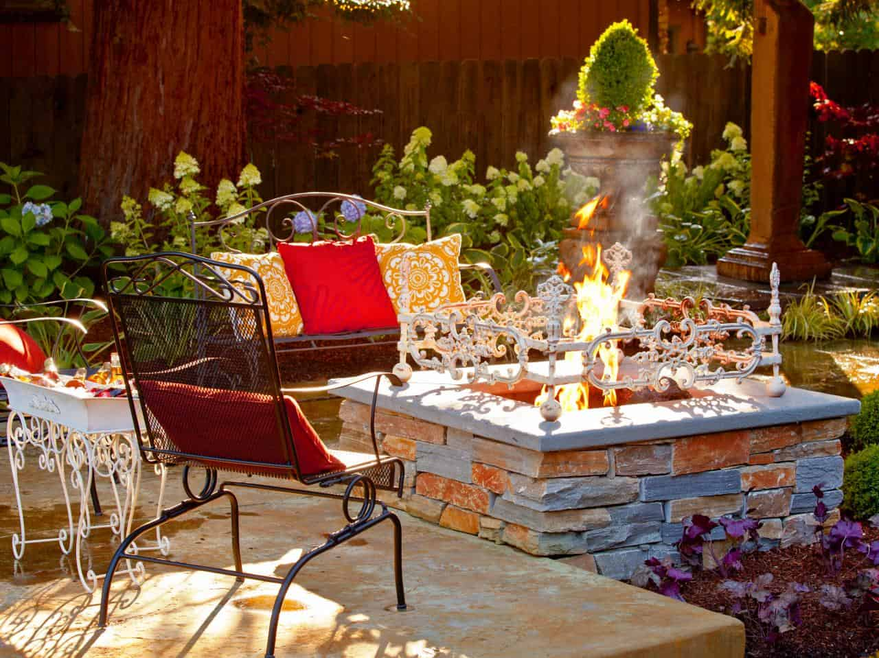 Add Personality to fire pit